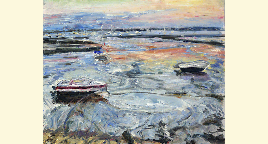 Provincetown: Beached 10″ x 12″